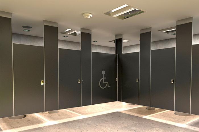 mamparas para sanitarios públicos Sanimodul,mamparas para baños ...